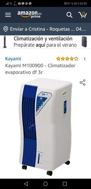 Climatizador evaporativo df 3r Kayami M100900