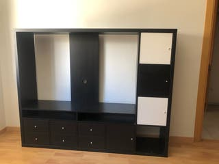 Mueble tv con cajones y armarios