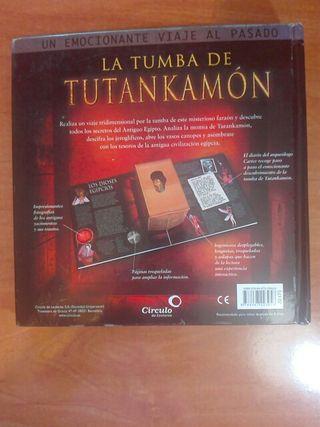Libro La tumba de tutankamon.