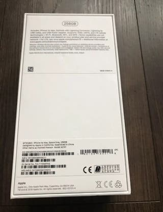 iPhone XS Max space grey 256gb
