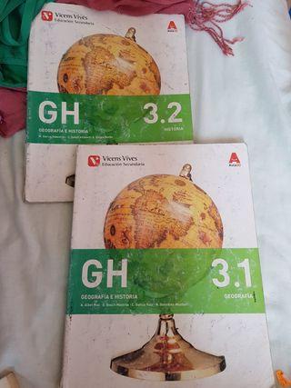 Libro de Geografía e historia 3º ESO