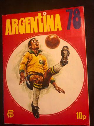 PANINI World cup argentina 78 , ÁLBUM COMPLETO