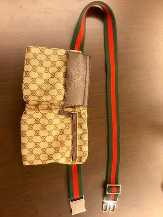 Riñonera Gucci original.