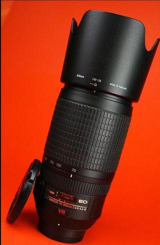 Nikon 70-300 F4.5-5.6 G VR AF