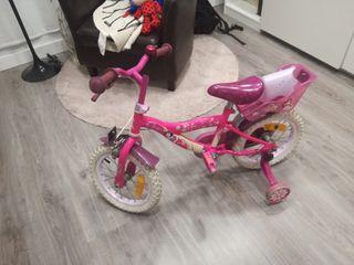 Bicicleta niña princesas Disney