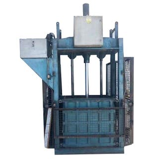 Prensa compactadora hidráulica de papel
