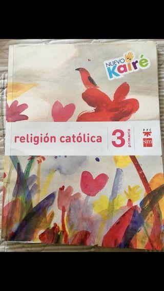libro de religión de 3°
