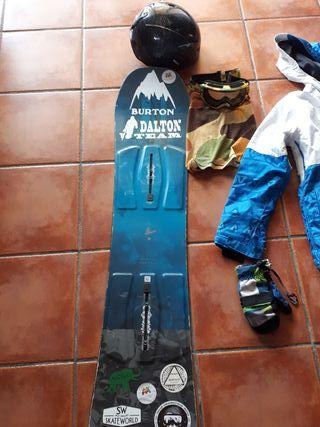 snowboard niño desde los 9 a los 11 años