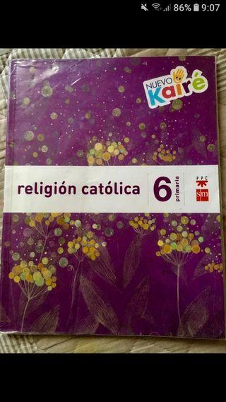 libro de religión fe 6°