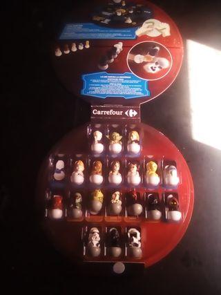 Star Wars.coleccion 19 baldufas 2 cm