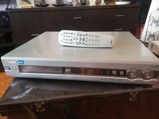 reproductor/grabador DVD 725h con disco duro