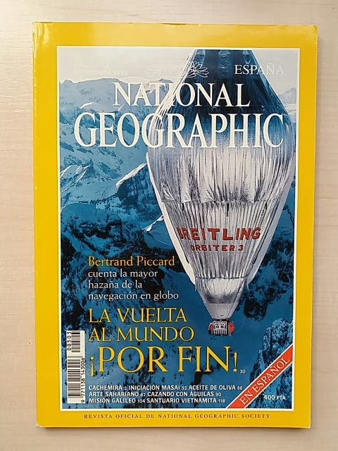 Revista National Geographic Septiembre 1999