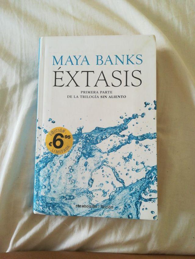extasis. Maya Banks. 1a parte trilogía sin aliento