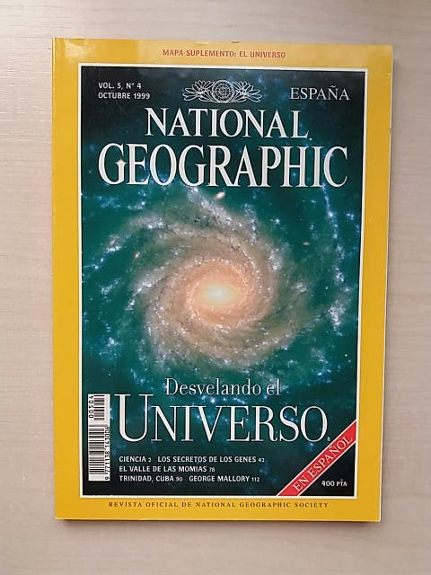 Revista National Geographic Octubre 1999