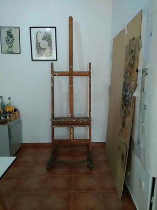 caballete para pintura grande