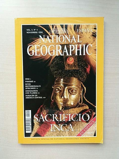 Revista National Geographic Noviembre 1999