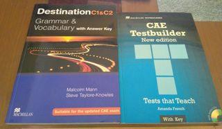 Libros inglés Destination C1&C2 + CAE Testbuilder