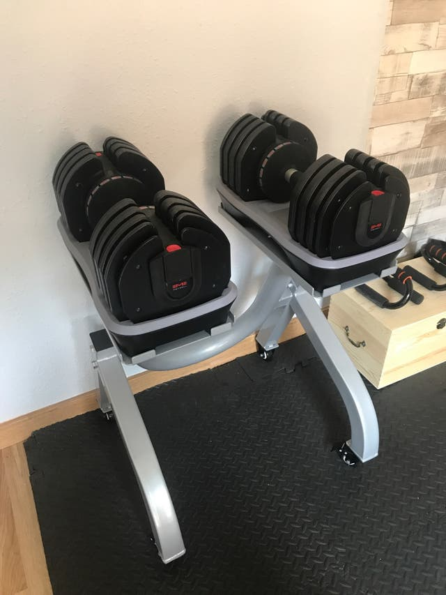 Mancuernas ajustables 2-36 kg