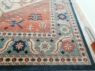 alfombra turca en perfecto estado grande.
