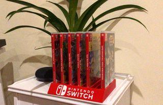 Estanteria juegos nintendo switch