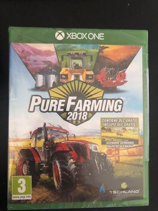 Juego XboxOne Puré Farming 2018 nuevo