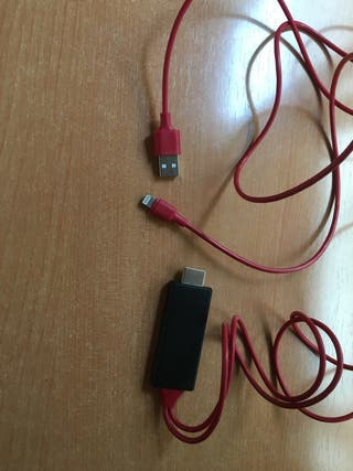 Cable hdmi para apple ( iphone , ipad )
