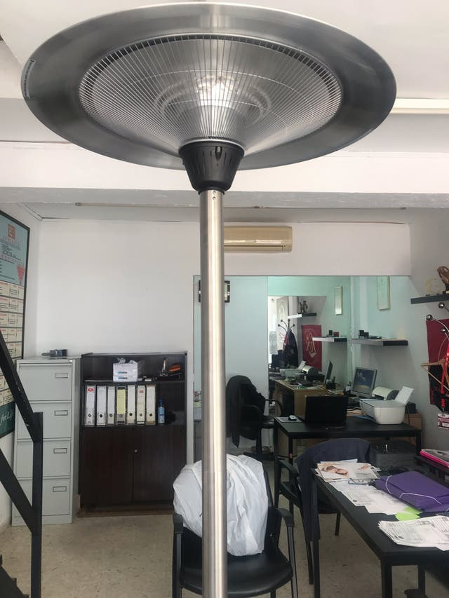 Calentador Estufa Terraza Exterior De Segunda Mano Por 110