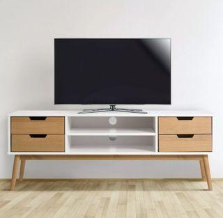 Mueble TV de comedor, salón, de pino macizo