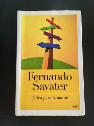 "Libro ""Ética para Amador"" (Editorial Ariel)"
