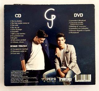 CD+DVD Gemeliers Mil y una noches+fotos