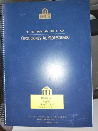 Prácticos Magister inglés Secundaria