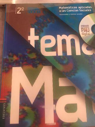 Libro edelvives Matematicas