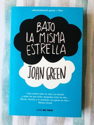 Libro Bajo la Misma Estrella - John Green