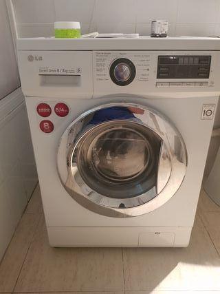 lavadora secadora 1400 revoluciones 8/4 kilos