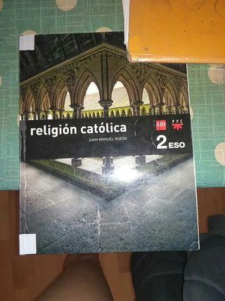 libro religión SM Ahora 2 ESO