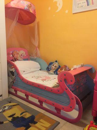 Cama infantil Trineo Frozen Disney