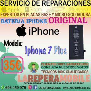 Cambio de batería IPhone 7 Plus Batería 7 Plus