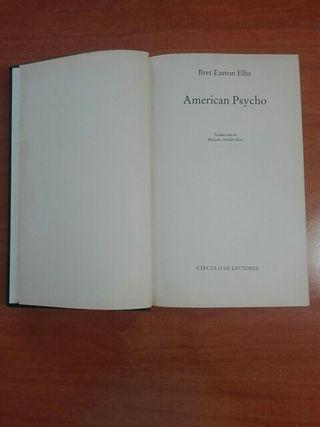 American Psycho de Bret Easton Ellis