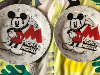 Platos de postre Mickey Mouse 2