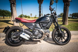 Ducati Scrambler Full Throttle 2016 - pocos km