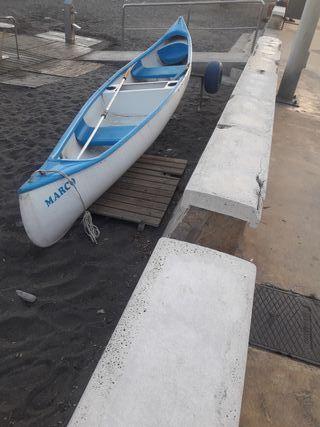 canoa de poliester