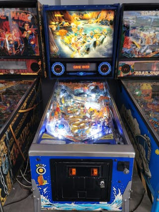 pinball white Water Williams!!!