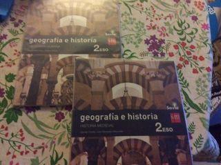 Libro Geografía e historia 2 ESO SM