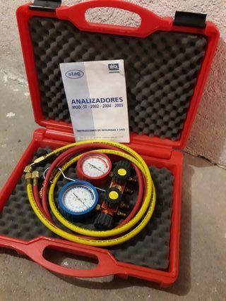 Analizador de gas R410 Rothenberger