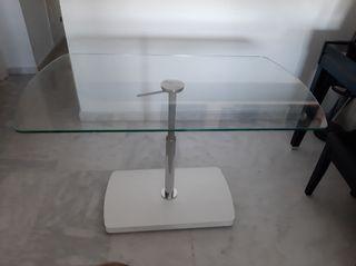 Mesa Cristal de diseño moderno elevable