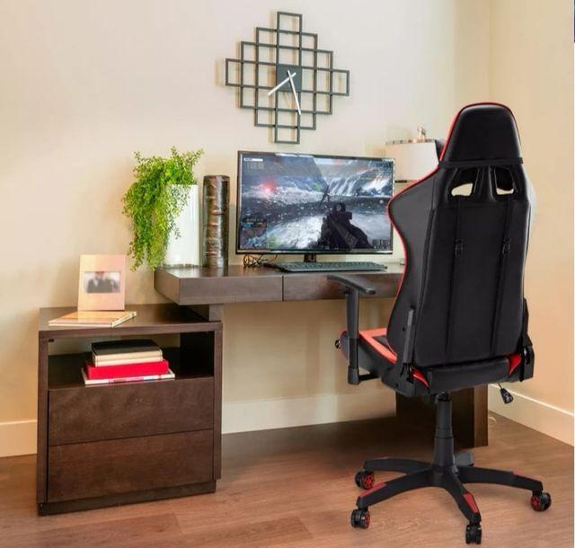 Silla gaming, ajustable y reclinable