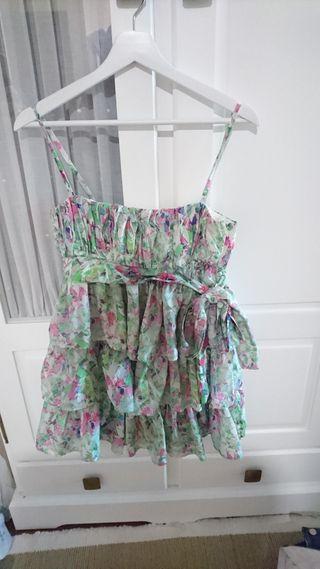 vestido de cóctel o ceremonia