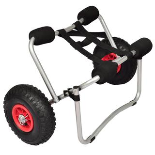 vidaXL Carrito de kayak de aluminio 90374