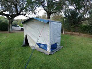 cocina tienda camping