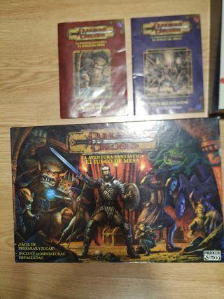 Juego de mesa Dungeons dragons juego de rol